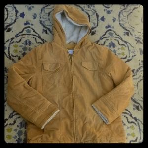 Sonoma womens size L fleece lined quilted corduroy